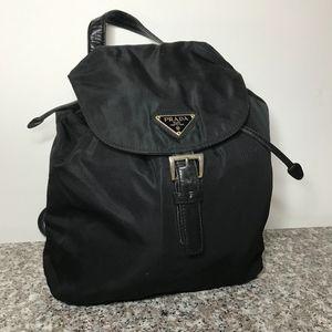 Prada mini Vela chain backpack